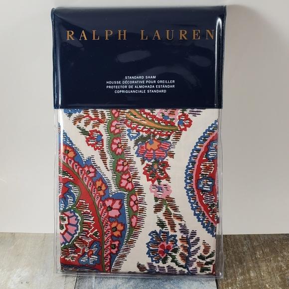 Ralph Lauren Home Other - Ralph Lauren Paisley Standard Pillow Sham